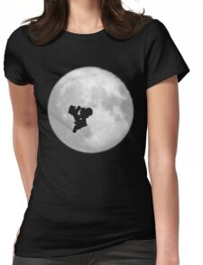 Phone Home Womens Fitted T-Shirt