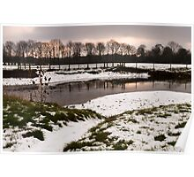 River Great Ouse in winter Poster