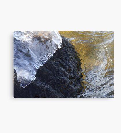 Ice Cap Canvas Print