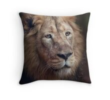 Portrait of the King! Throw Pillow
