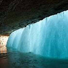 Frozen Waterfall by Bryant Scannell