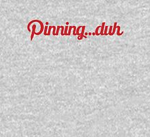 Pinning...duh (text) Mens V-Neck T-Shirt