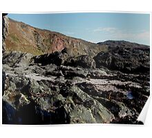 South Devon Gara Rock To East Prawle Low Tide September 2011 (1) Poster