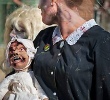 Zombie Walk Scary Baby by andykazie