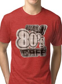 Love 80's Cafe Vintage - T-Shirt Tri-blend T-Shirt