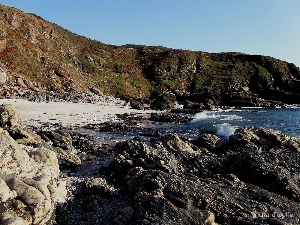 South Devon Gara Rock To East Prawle Low Tide  September 2011 (2) by richard wolfe