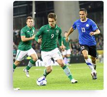 International Football  Canvas Print