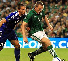 International Football Rep of Ireland by Billy Galligan