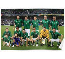 Rep of Ireland football team Poster