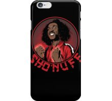 shon'uff shogun of harlem iPhone Case/Skin