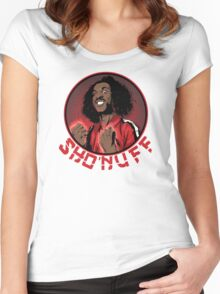 shon'uff shogun of harlem Women's Fitted Scoop T-Shirt