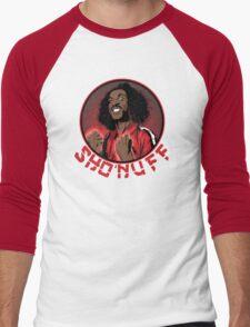 shon'uff shogun of harlem Men's Baseball ¾ T-Shirt