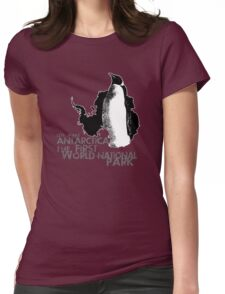 BEFORE WE LOSE IT (Antarctica)  Womens Fitted T-Shirt