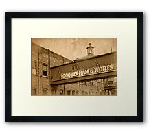 Distillery - Once Upon A Time Framed Print