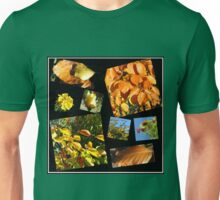 Autumn Leaves, Flowers and Berries Collage Unisex T-Shirt