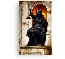 And Justice for All... Canvas Print