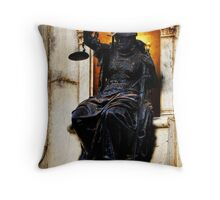 And Justice for All... Throw Pillow