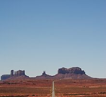 Approach to Monument Valley by BeckyMP