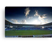 Cardiff Blues Stadium Canvas Print