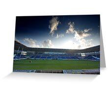 Cardiff Blues Stadium Greeting Card