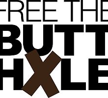 Free The Butt hXle by LudlumDesign