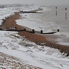 Kingsdown Beach in the Snow (Feb 2012) by BeckyMP