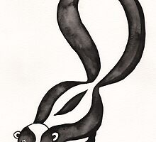 My Little Skunk by Erika  Hastings