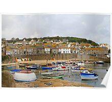 Mousehole seaport , Cornwall, UK  Poster
