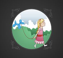 Walking the balloon by Nathan Joyce