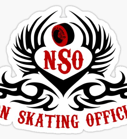 Non-Skating Official {black & red} Sticker