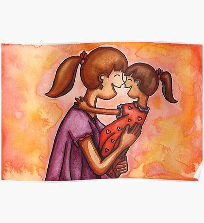 Mama Hugs Poster