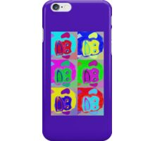 Warhol Musical Jolly Chimp phone case iPhone Case/Skin