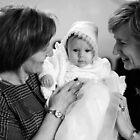 Christening-Baby Julia, Mommy and Aunt. by MyraVeresPhoto