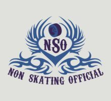 Non-Skating Official {blue & purple} by David & Kristine Masterson