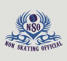 Non-Skating Official {blue & purple} by David & Kristine Masterson