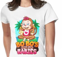 Bobo's Are For Babies Womens Fitted T-Shirt