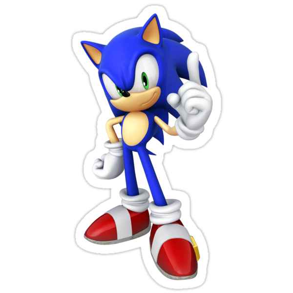 Sonic by bigthecat