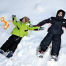 Enjoying snow 2 by Daidalos