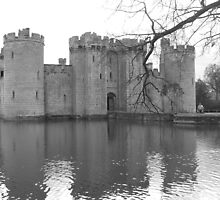 Bodiam Castle by NowhereMan
