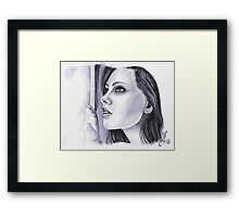 Waiting for you! Framed Print
