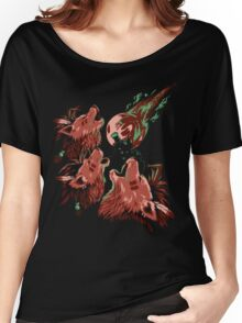 XIII Wolf Moon Women's Relaxed Fit T-Shirt