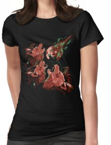 XIII Wolf Moon Womens Fitted T-Shirt