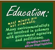 Education Photographic Print