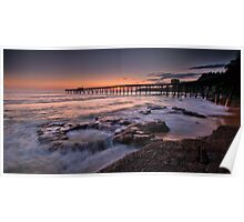 Catherine Hill Bay Sunrise Poster