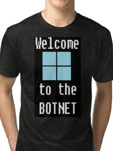 Welcome to The BotNet - black Tri-blend T-Shirt