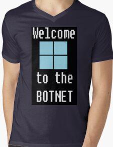 Welcome to The BotNet - black Mens V-Neck T-Shirt