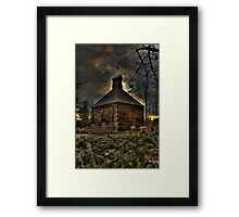 Lonley Old Hop Shed Framed Print