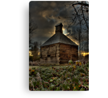 Lonley Old Hop Shed Canvas Print