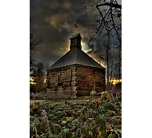 Lonley Old Hop Shed Photographic Print