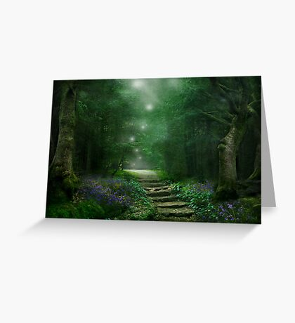 Spirit of the Woods Greeting Card